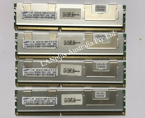 Apple MacPro 16GB 4x 4GB DDR3 1333MHz ECC RAM Memory 09 10 11 12 MacPro 4.1 5.1