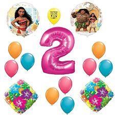 Disney Moana Happy 2nd Birthday Balloon Decoration Kit