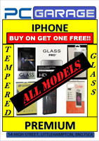 TEMPERED GLASS IPHONE SCREEN PROTECTORS ALL MODELS IPHONE X,IPH6,IPH7,IPH 8,IPH5