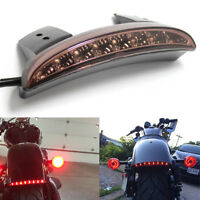 MOTORCYCLE CHOPPED FENDER LED BRAKE TAIL LIGHT FOR HARLEY SPORTSTER IRON 883 US