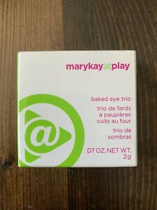 Mary kay at play baked eye trio Tranche Napolitaine