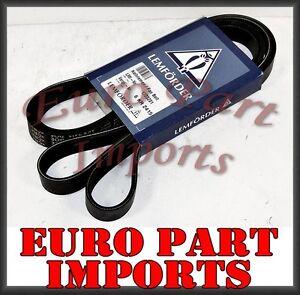 Mercedes SERPENTINE DRIVE V-BELT LEMFORDER OEM Quality 1723201