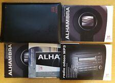SEAT ALHAMBRA HANDBOOK OWNERS MANUAL WALLET 2004-2010 PACK b-508
