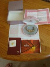 ROLEX TUDOR PRINCESS LADIES 9CT GOLD  WATCH + BOX AND PAPERS