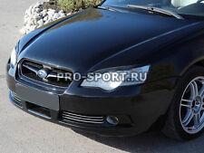Subaru Legacy 2003 2004 2005-2009 eye brow, eyelids, cilia head lights, pair