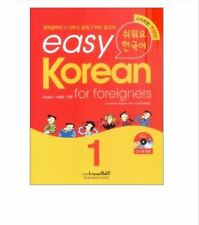 Easy Korean 1 for Foreigners w/ 1 CD Free Ship