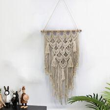 Bohemian Handmade Macrame Tassel Wall Hanging Art Woven Tapestry Home Decor Gift