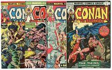 Conan #56 - 63, 65 - 70  avg. VF 8.0  Marvel  1975  No Reserve