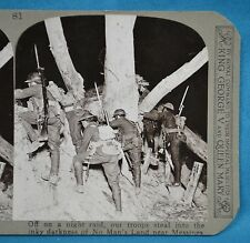 WW1 Stereoview Night Raid Into No Man's Land Messines Ypres Realistic Travels