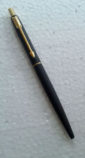 Parker Classic Matte Black GT Gold Trim Ball Pen, Original New