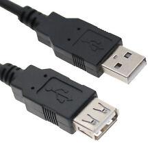 Cavo Prolunga USB A/A maschio/femmina (varie lunghezze) nero