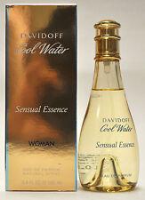 Davidoff Cool Water Sensual Essence 3.4oz Eau de Parfum Spray (neu in Box)
