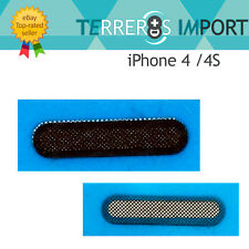 2 x Rejilla Altavoz Auricular y Malla Antipolvo para iPhone 4 / 4S