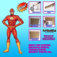 The Flash Marvel DC  Comic Style Lifesize Cardboard Cutout Standee
