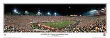 Florida State 2014 NCAA FOOTBALL NATIONAL CHAMPIONSHIP GAME Panoramic Poster