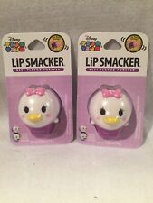 Lot Of 2 Lip Smacker Disney Tsum Tsum Balms Glamorous Cotton Can 0.26 Ounce