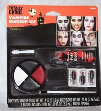 Totally Ghoul Vampire Makeup Kit Halloween Costume Accessory