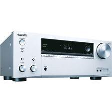 ONKYO TX-NR575E silber AV-Receiver 7.2 Kanäle Dolby Atmos WLAN NEU OVP