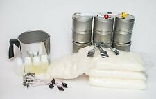 Soy Wax Candle Kit- Summer - Great for small groups make 12 Tins -Free Shipping