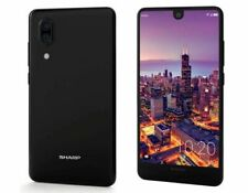 "Sharp Aquos C10 Black 64GB 4GB 5.5"" 12MP Octa-core Android 8.0 Phone By FedEx"