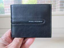 Piquadro Freeway black leather wallet PU1307FW/NG