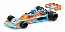 "Minichamps 1/43: 400760037 Tyrrell Ford 007"" Gulf "" – Alessandro PESENTI ROSSI"
