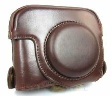 New camera case bag for Canon Powershot G16 PU leather case bag