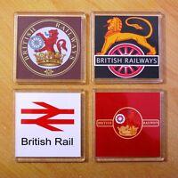 Acrylic Railway Coasters / Train Mats | British Rail etc | Great Gift