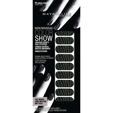 3 X Maybelline Color Show Stickers Ongles 01 Zèbre Nuit