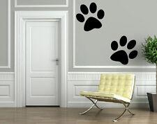 Cartoon Wolf Paw Prints Animal Decor Wall MURAL Vinyl Art Sticker M355