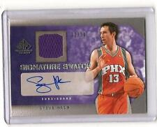 2007-08 SP Game Used STEVE NASH Auto Jersey #d 30 LAKERS