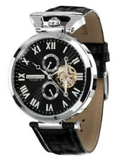 "SK 1.229 EUR mögl.- Calvaneo 1583 ""Venedi Steel Black"" High Luxury Automatikuhr"