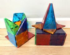 Magna-Tiles — Clear Colors —- 31 Pieces— Great Condition! No Reserve!