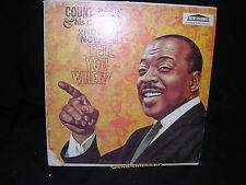 "Count Basie & His Orchestra ""Not Now I'll Tell You When"" G+/VG"