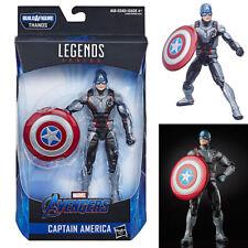 Marvel Legends Captain America from Avengers Endgame Thanos Build A Figure Wave
