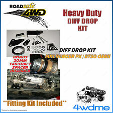 "Ford Ranger PX PX1 PX2 Mark 2 4WD Roadsafe Front Bolt In Diff Drop Kit 2"" - 4"""