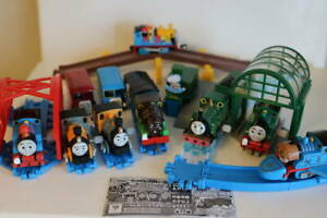 Thomas & Friends Tomy Windup green airplane Dash Bush Chocolate Percy Bertie