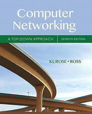 NEW Computer Networking: A Top-Down Approach (7th Edition) by James Kurose