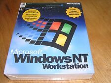 NEW - Microsoft Windows NT 4.0 WindowsNT Workstation factory sealed