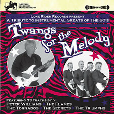 Twangs For The Melody Peter Williams The Flames Guitar Instrumentals