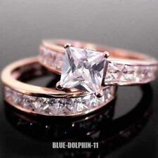 Cubic Zirconia Gold Diamond Fine Rings
