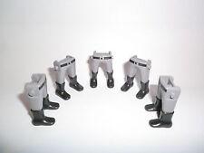 Playmobil 5 . Gambe grigio grigio chiaro Stivali Sud stampa Cintura ACW Garde