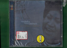 ARETHA FRANKLIN - ARETHA'S BLUES THE DELTA MEETS DETROIT  CD NUOVO SIGILLATO