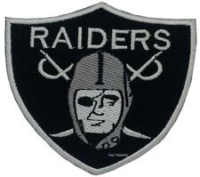 High Quality NFL Raiders Badge Embroidered Logo Crest Badge Iron Sew On Patch