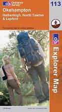 Okehampton (Explorer Maps) (OS Explorer Map), Ordnance Survey, New Book