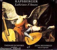 Kapsberger: Labrinto d'Amore / Anna Reinhold, Thomas Dunford - CD