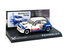 Teamslot Renault 5 Turbo Eurocup 1984 Ref. SRE18 1:32 Slot Car