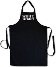 WHITE TRASH BBQ COOKING KITCHEN APRON Hillbilly Redneck Outlaw USA South America