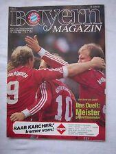 Orig.PRG   1.Bundesliga  1986/87   FC BAYERN MÜNCHEN - WERDER BREMEN  !!  SELTEN