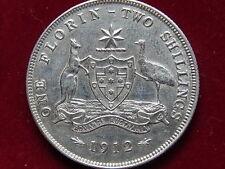 Australia.  1912 Florin..   aEF/EF+